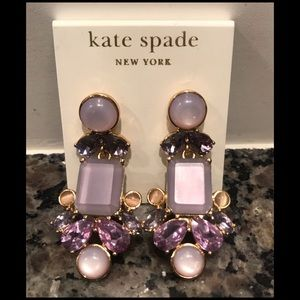 Kate Spade Glitzy Chandelier Earrings